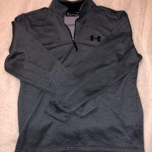 Men's dark grey UA pullover